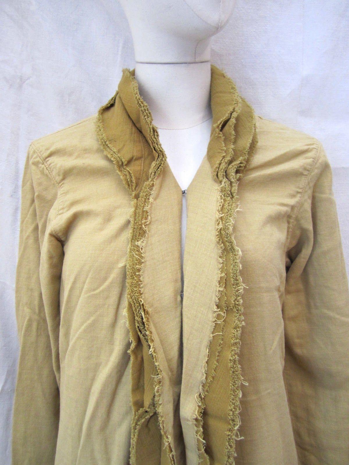 Vlas blomme coat dress cotton wool color sunflower