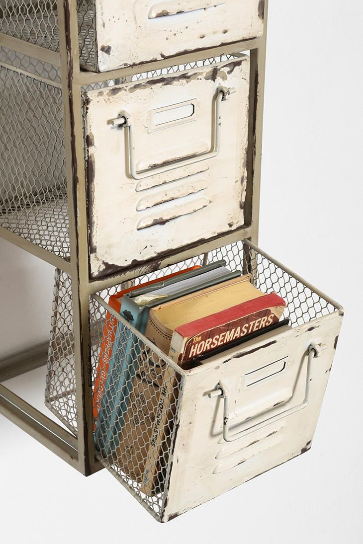 Triple-Tiered Metal Shelf - Urban Outfitters
