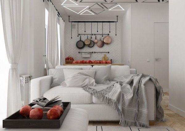 4 idées pour aménager un petit appartement de 30m2 Interiors
