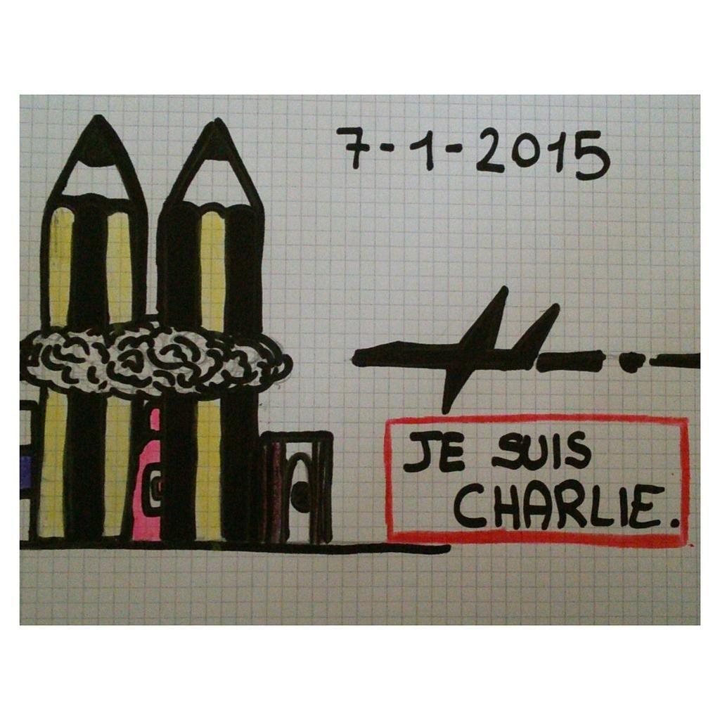 Posso non essere d'accordo con ciò che dici, ma darei la vita affinchè tu possa dirlo.  #JesuisCharlie