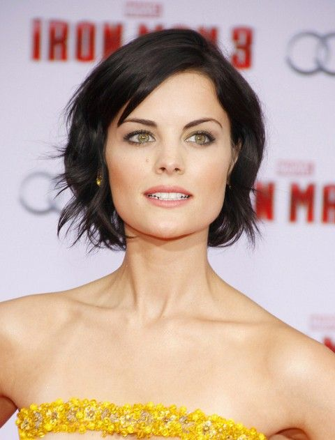 Jaimie Alexander Short Hair Style for 2014 - Short Black Hairstyle with Waves - Pretty Designs