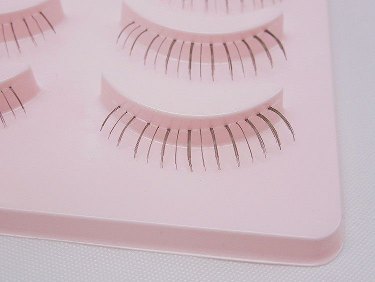 c97d0b2fd75 5 Pairs Cosplay Lower Under Bottom Fake False Eyelashes Cross Eye Makeup  Lashes#Fake#False#Bottom