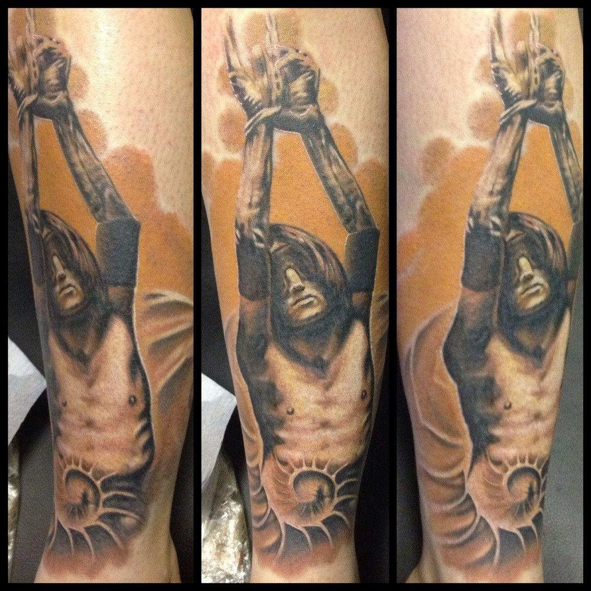 Nine Inch Nails Trent Reznor Closer music video still tattoo. | Yes ...