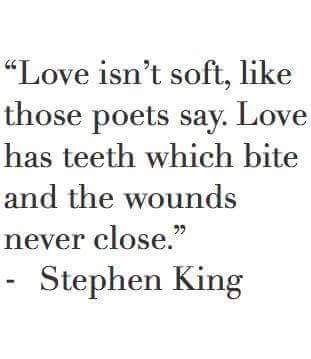 Pin by Cher Montague on ~Quotes~ | Stephen king quotes ...