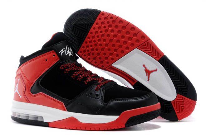 nike jordan shoes men red and black