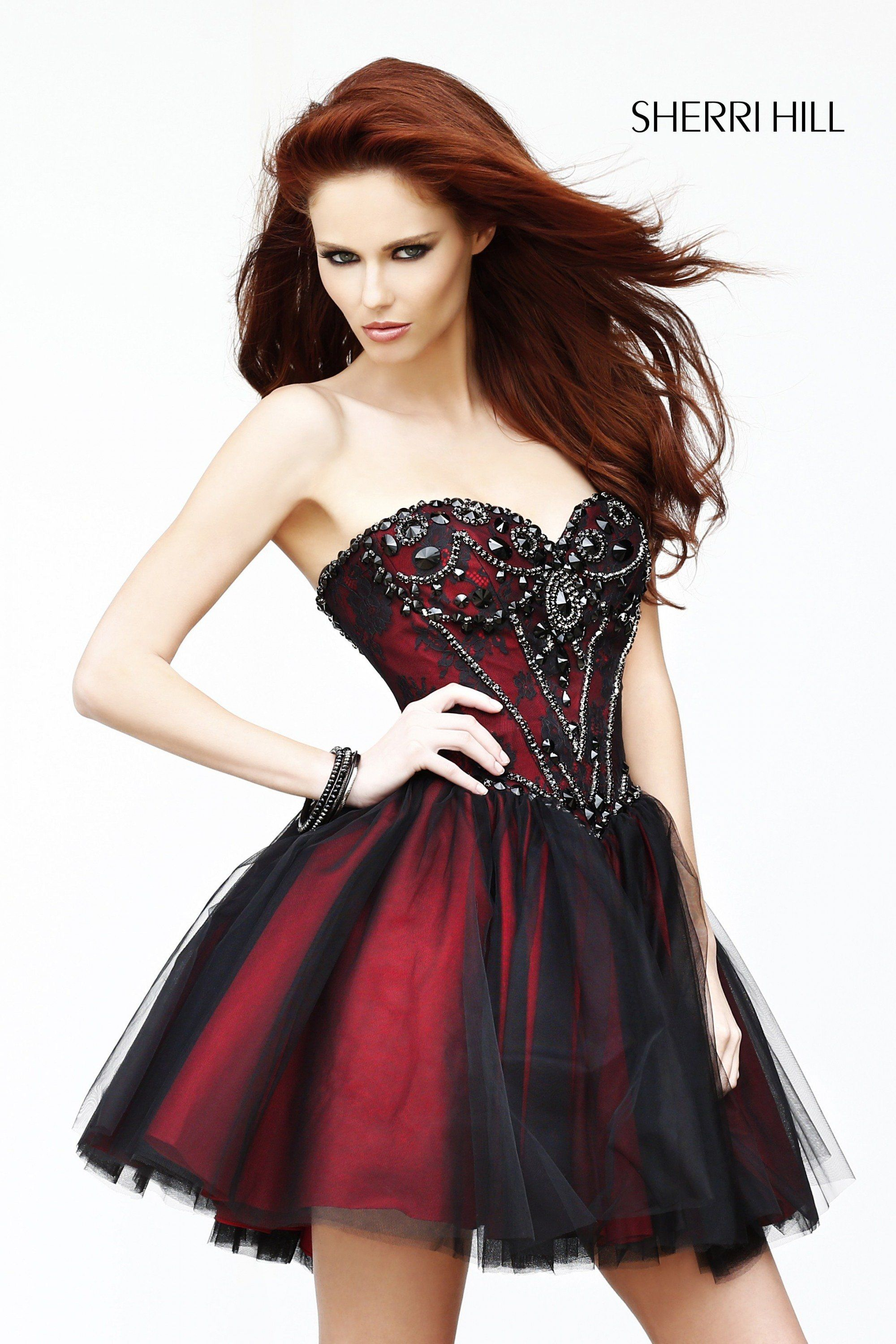 Sherri hill short prom dresses short prom and homecoming