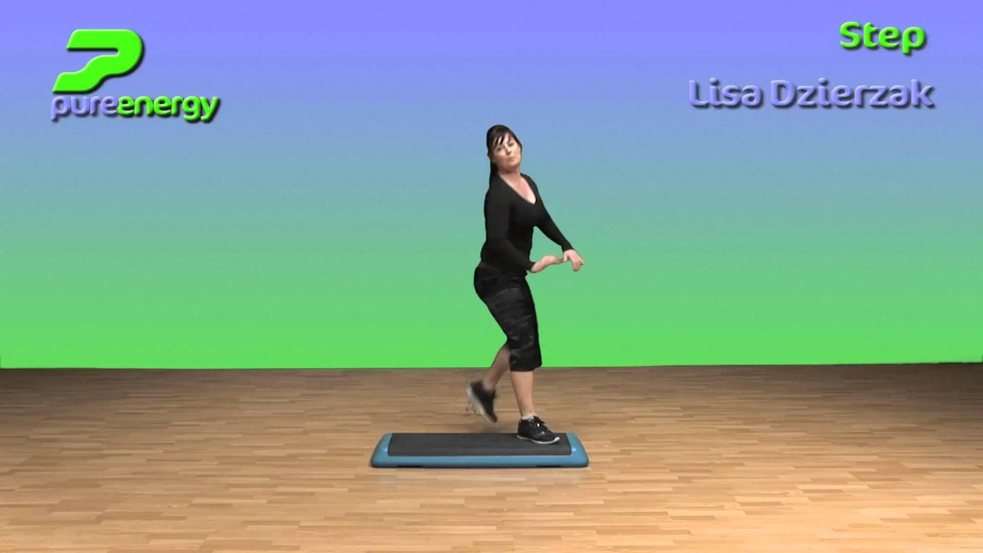Step Aerobics Choreography Ideas With Lisa Dzierzak Aerobics