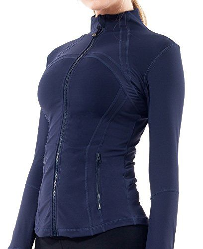 Queenie Ke Women's Sports Define Jacket Slim Fit And Cottony-Soft Handfeel Size S Color Dark Navy #outfitoftheday >>> Read more  at the sponsored product link.