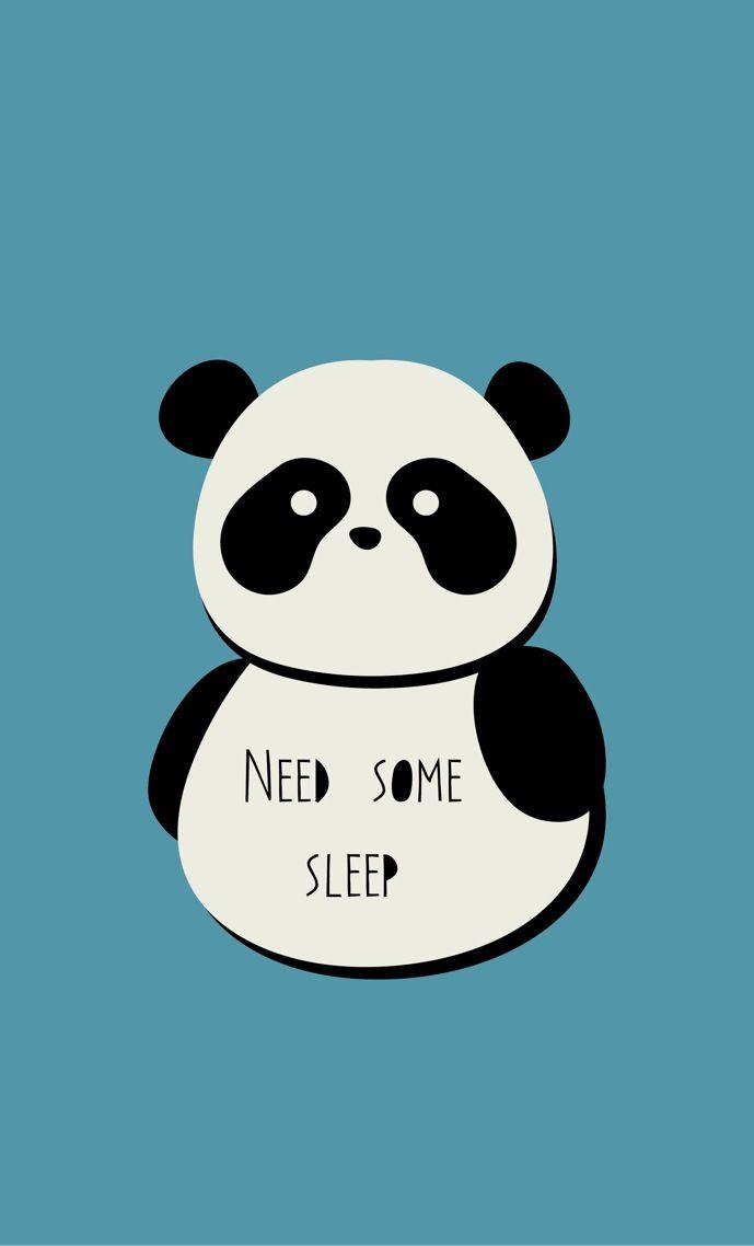 Panda by Berta Mallenco   Iphone 5 wallpapers   Pinterest ...