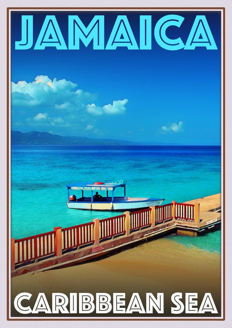 Photo of Retro Vintage Style Travel Poster or Canvas Picture   Etsy