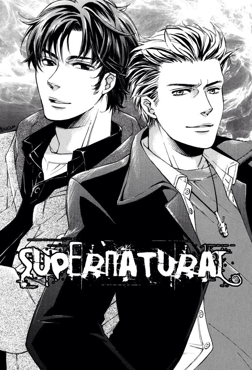 I watched this anime Supernatural drawings, Supernatural