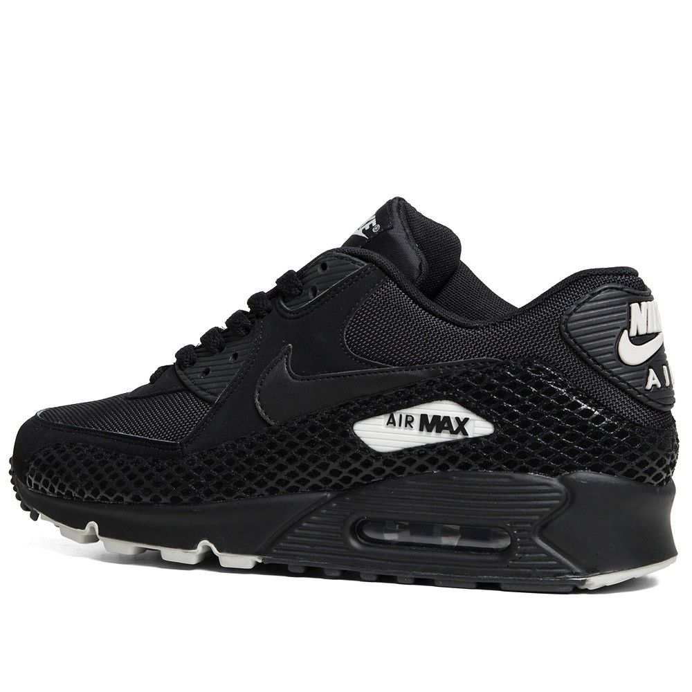 Nike Air Max 90 Premium - Pre Order (Black Black) Clothing, Shoes &