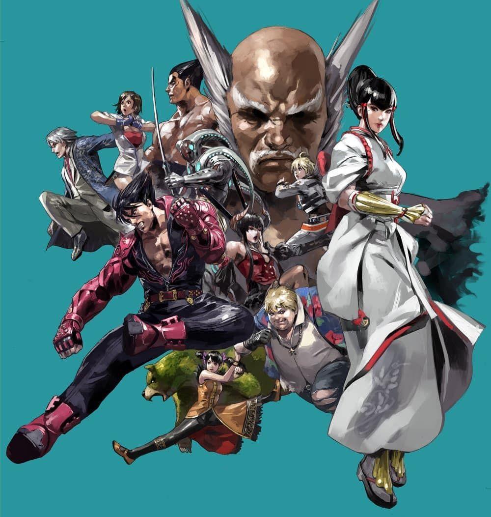 1 002 Curtidas 4 Comentarios The Fighters Generation Fighters Gen No Instagram Brand New Tekken 7 Artwork By Capcom Art Tekken 7 Anime Fighting Games