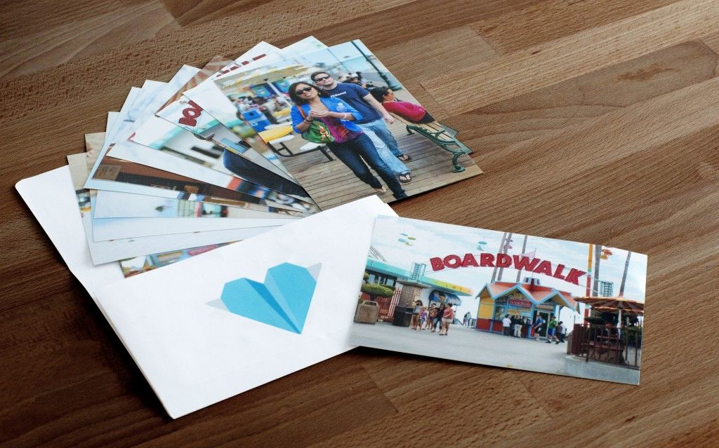 order photo prints from your phone with Kicksend, an app