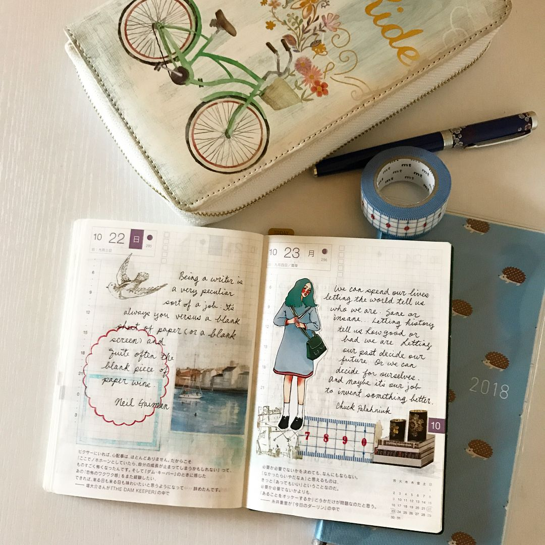 Ringed bullet journal