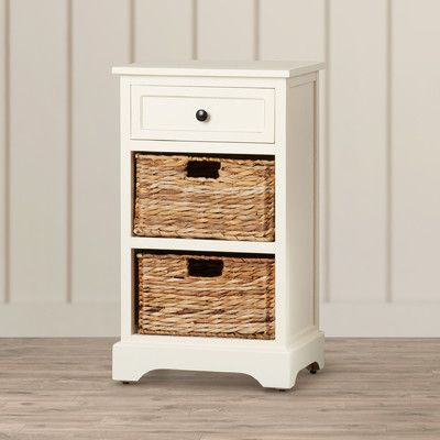 Found it at Wayfair - Nonatum Storage End Table