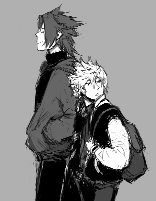 Kingdom Hearts - Terra x Ventus - TerraVen | Kingdom Hearts | Pinterest