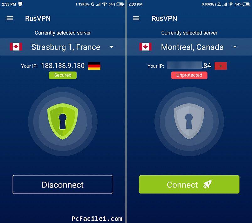 برنامج Rusvpn لتصفح الإنترنت بشكل مجهول وفك الحظر عن المواقع Incoming Call Screenshot Strasburg Incoming Call
