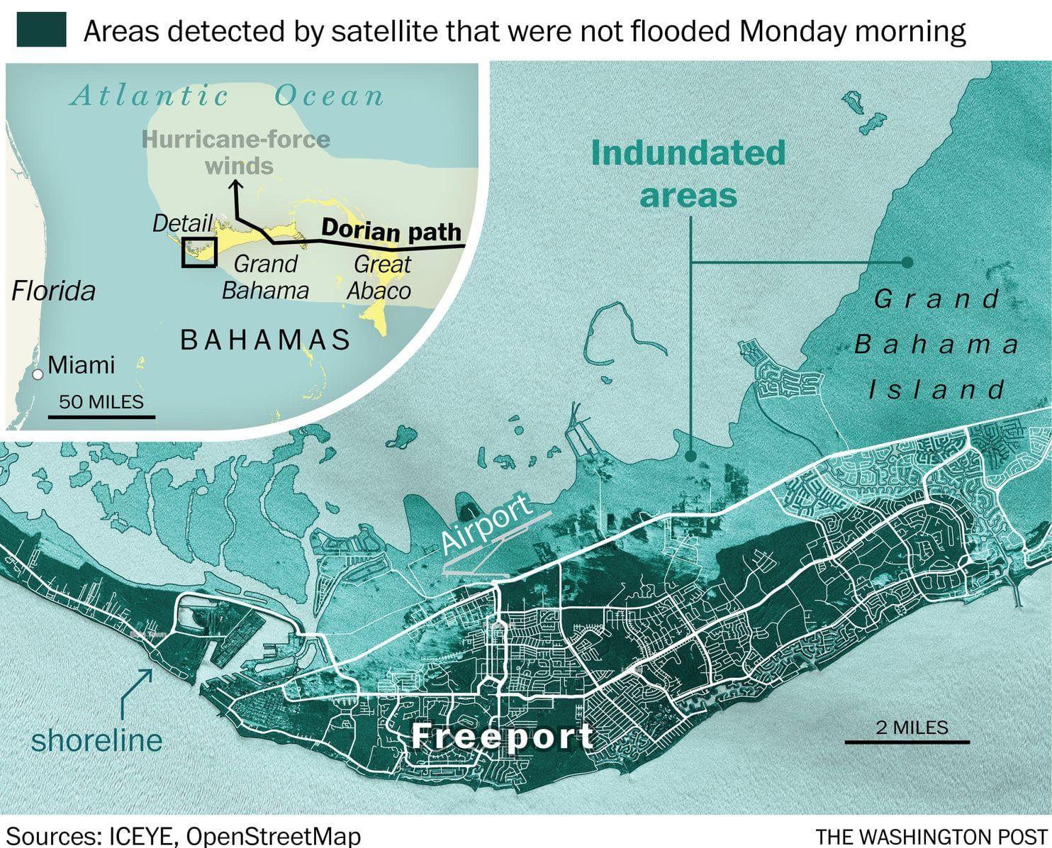 Hurricane Dorian Leaves Terrible Destruction In Bahamas As It Rolls Toward U S Bahamas National Hurricane Center Arlington County