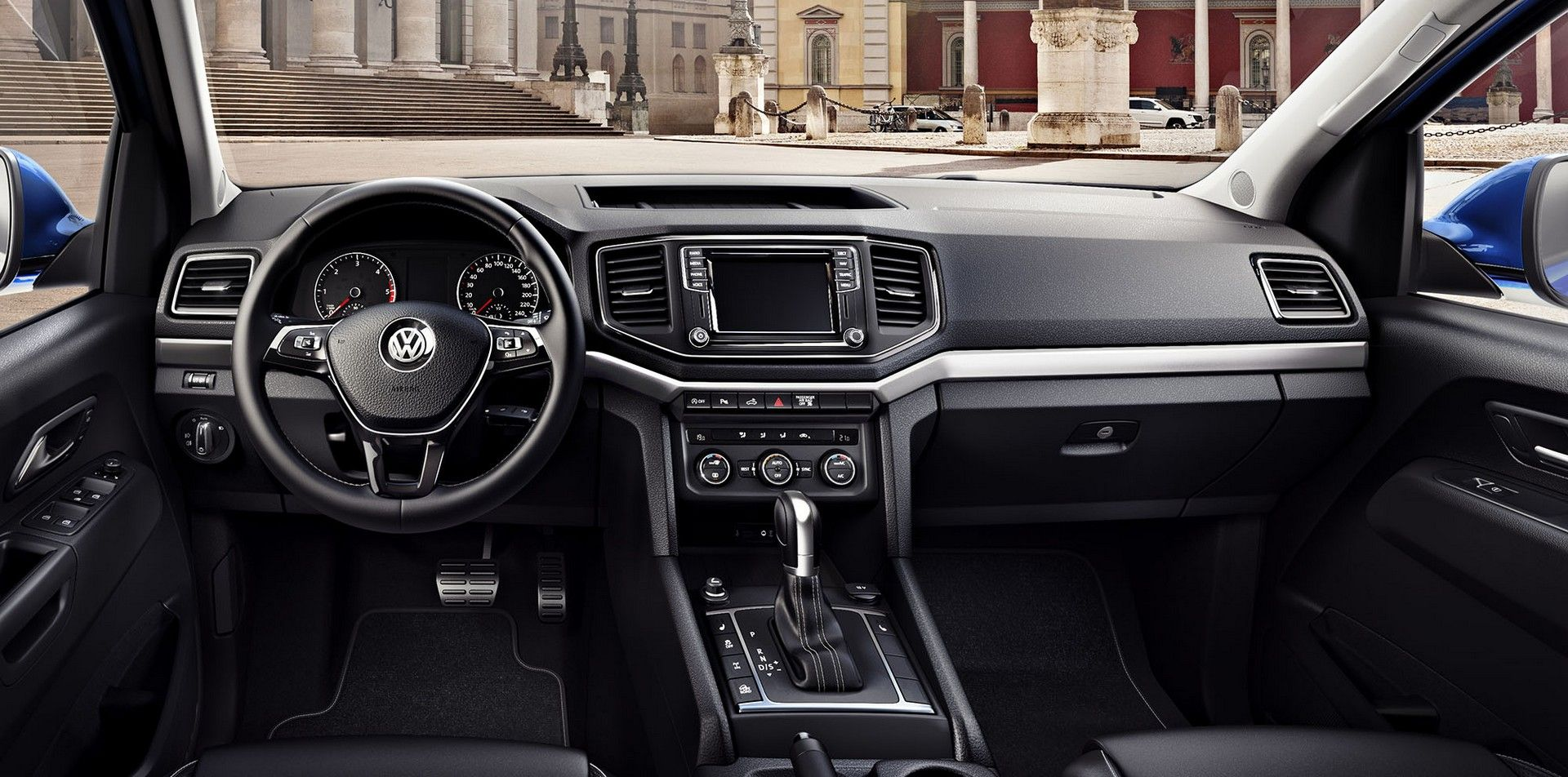 2020 Vw Amarok Interior Pickup Kendaraan