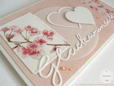 Photo of {Bellas} Papierträume: Kirschblüten zur Hochzeit