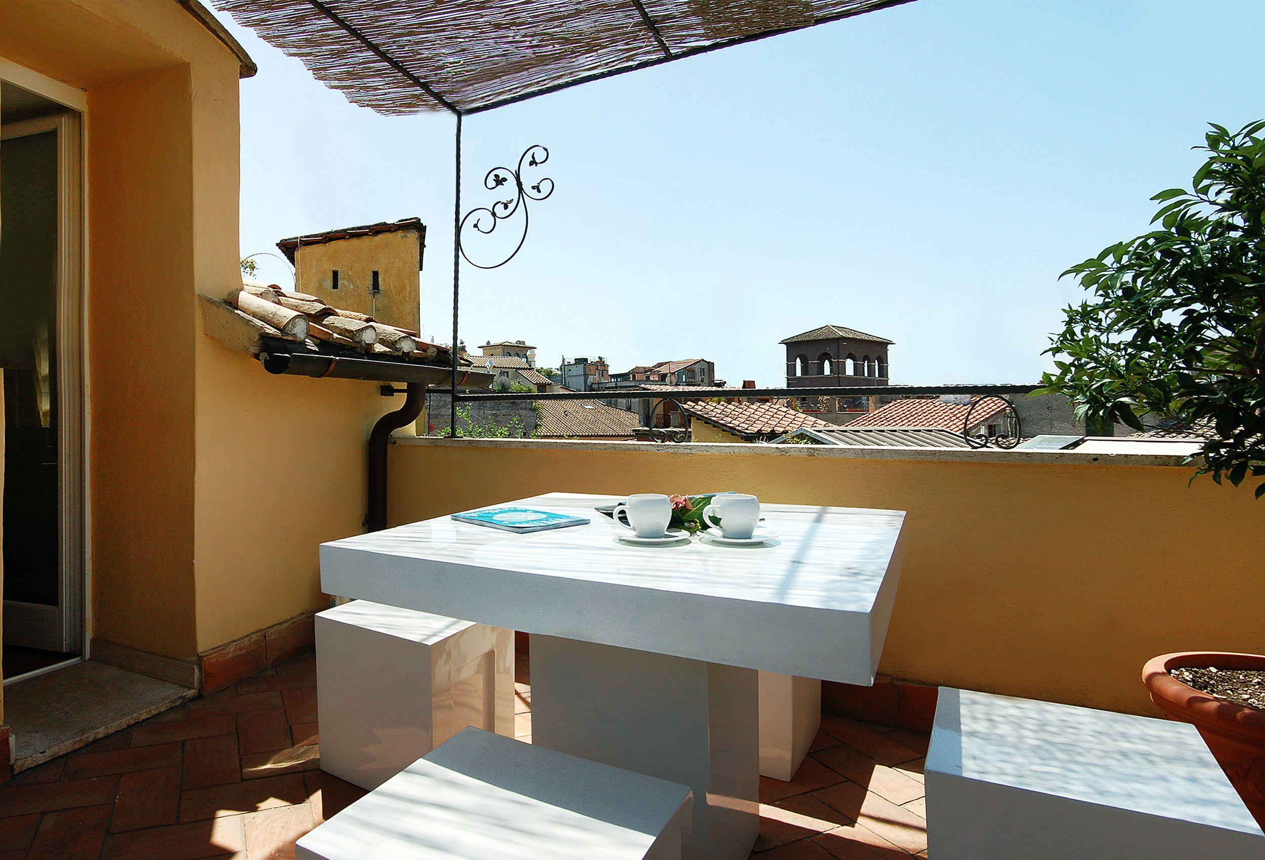 Navona Luxury Apartments, Monolocale Deluxe con terrazza ...