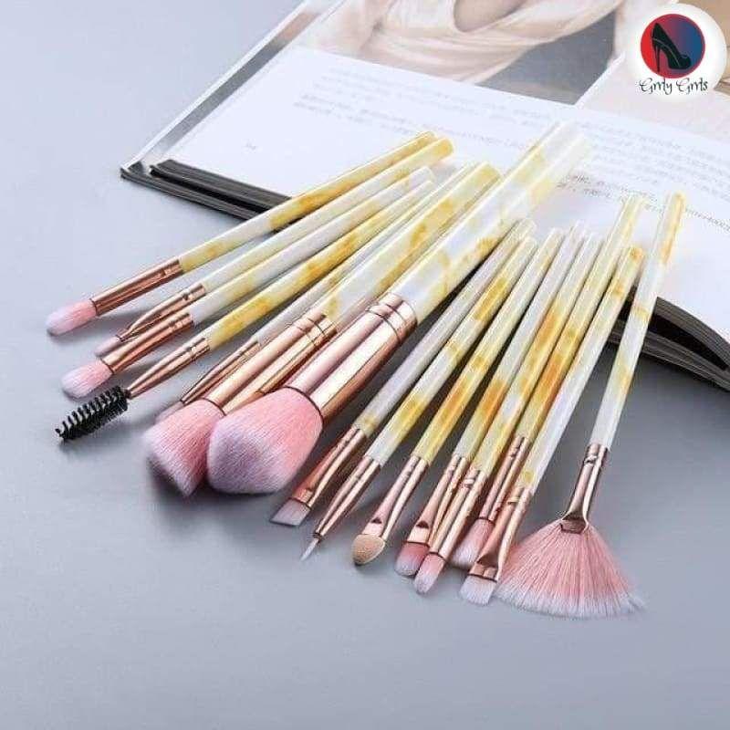 Photo of 10/5Pcs Makeup Brushes Set – 15pcs pink / China