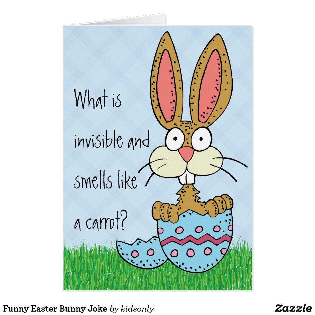 Funny easter bunny joke card funny greeting cards pinterest funny easter bunny joke card kristyandbryce Choice Image