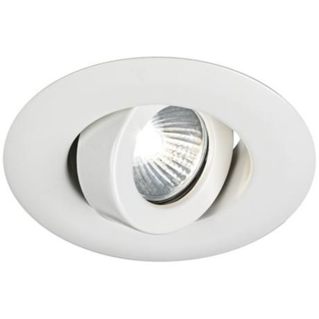 Juno 4 low voltage white gimbal recessed light trim recessed juno 4 low voltage white gimbal recessed light trim aloadofball Image collections