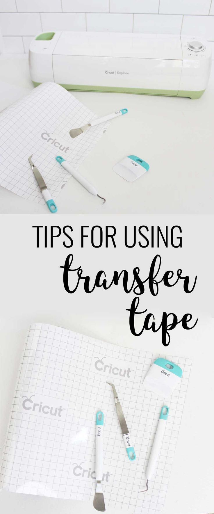 How to Use Cricut Transfer Tape