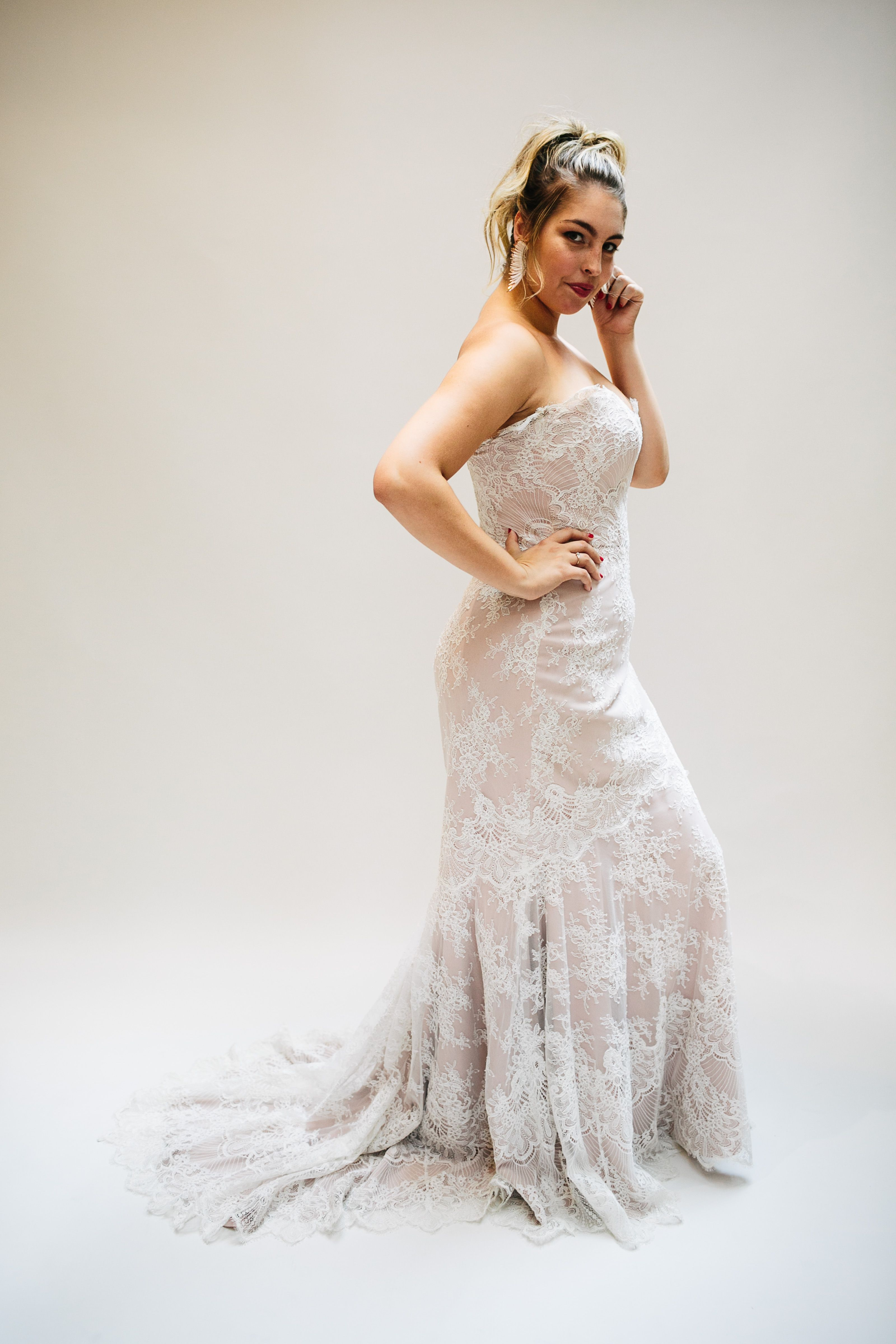 Wedding dresses for curvy brides  Lovely Bride Launches PlusSize Collection Exclusive Details  Boho