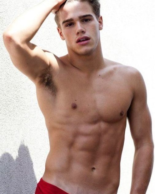 handsome young boy naked