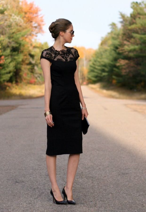 Beautiful black dress! Going To A Wedding? We've Got You Covered! – Fashion Style Magazine - Page 7