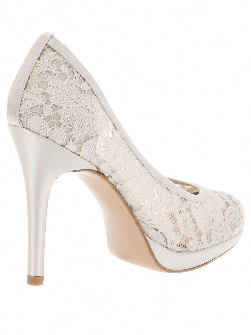 lace heel! These are cute!  Promheels  979fbf4d6706