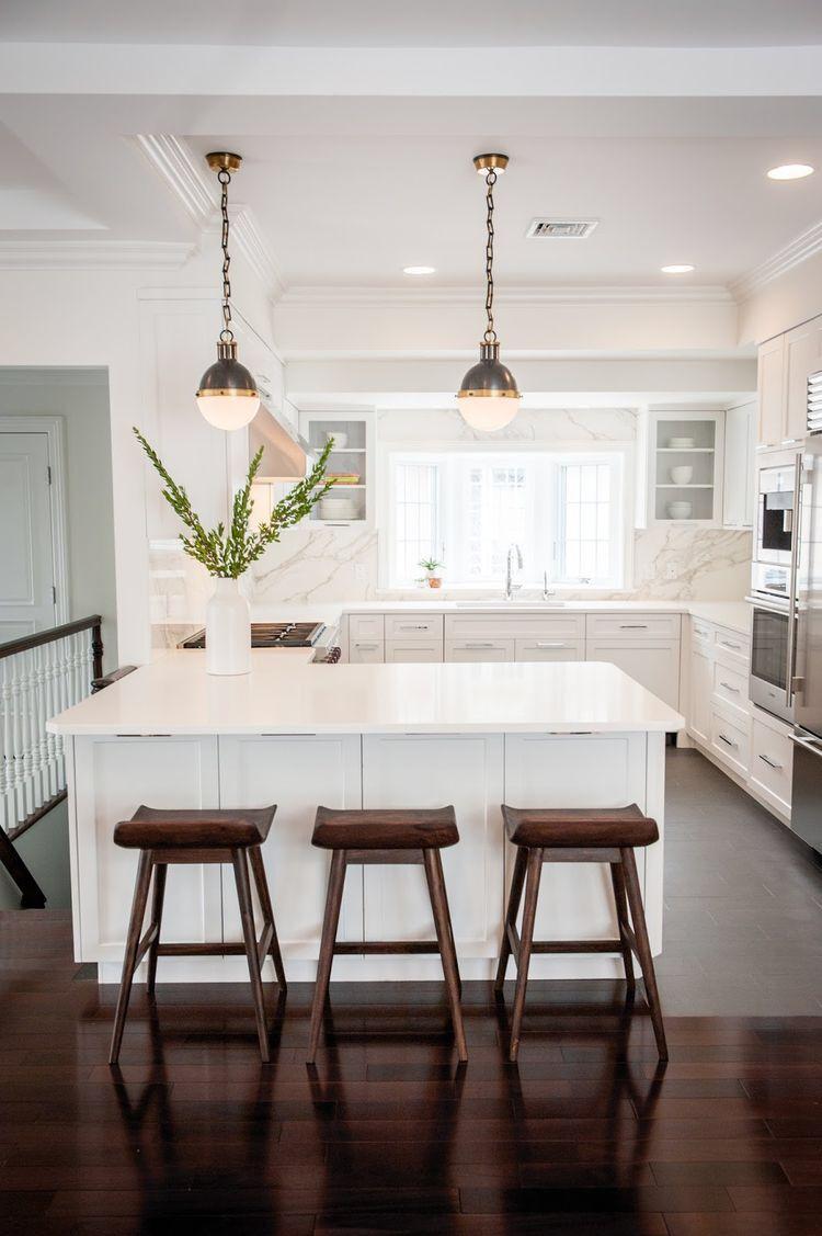 Anna\'s Modern Classic Kitchen Remodel   Modern Kitchen Design ...