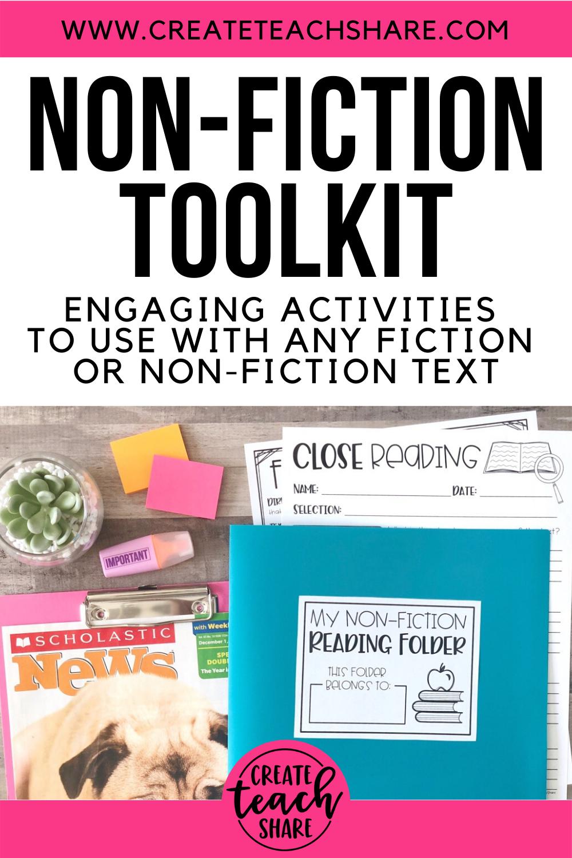 Non Fiction Toolkit In 2020 Nonfiction Texts Fiction Text Nonfiction [ 1500 x 1000 Pixel ]