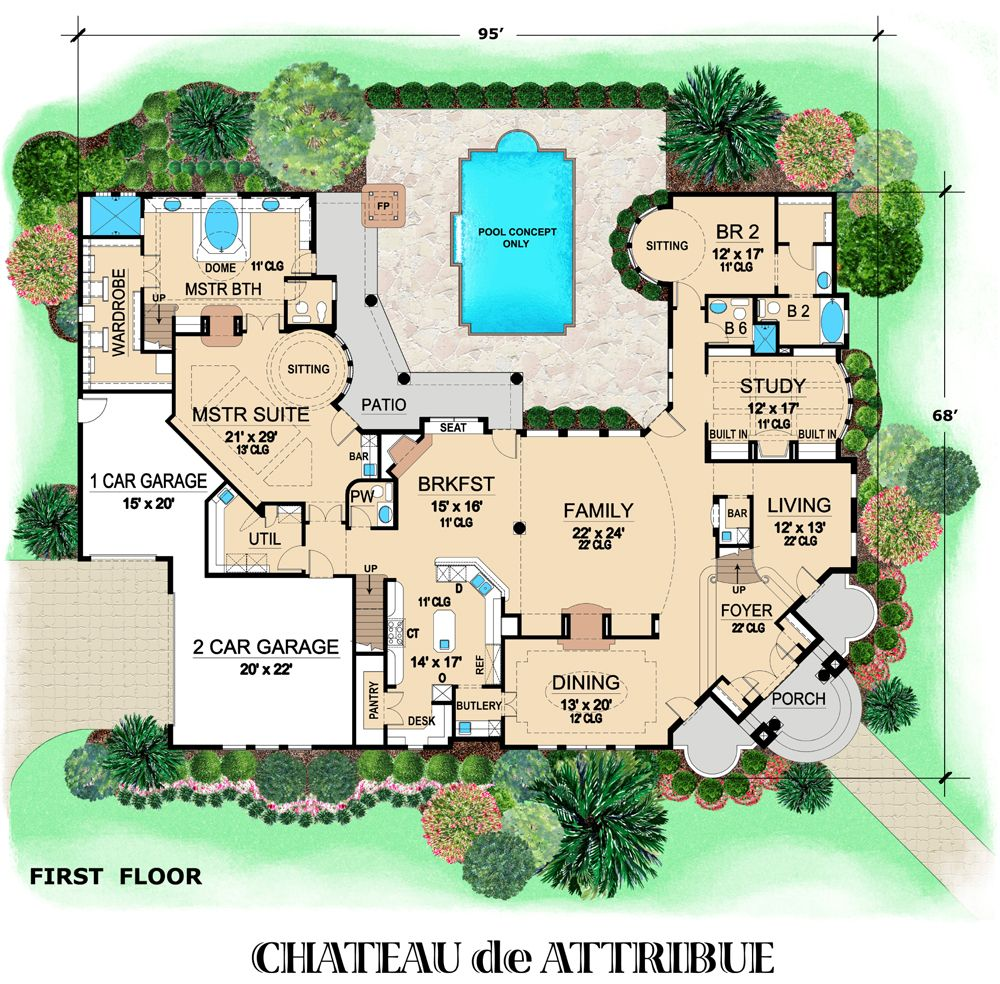 Chateau De Attribue