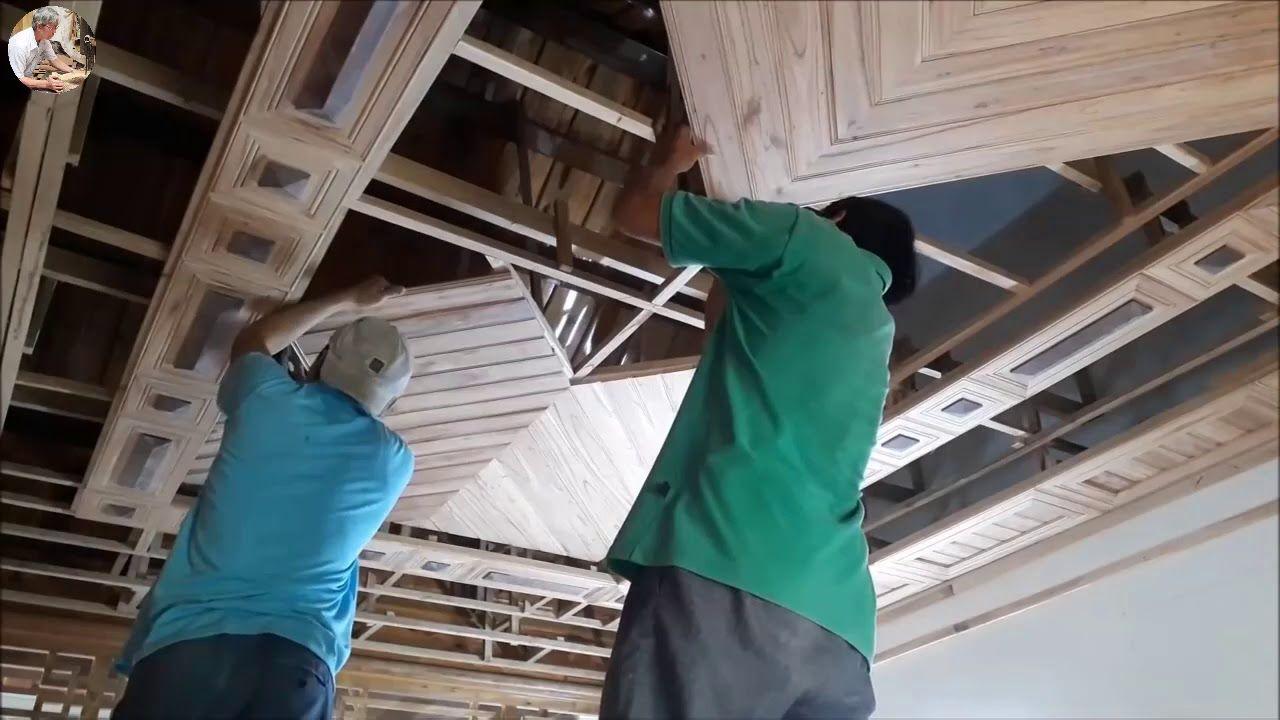 Diy 美しい木製の天井の作り方 Co Hinh ảnh