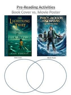 percy jackson book and movie compare and contrast activity unit percy jackson book and movie compare and contrast activity