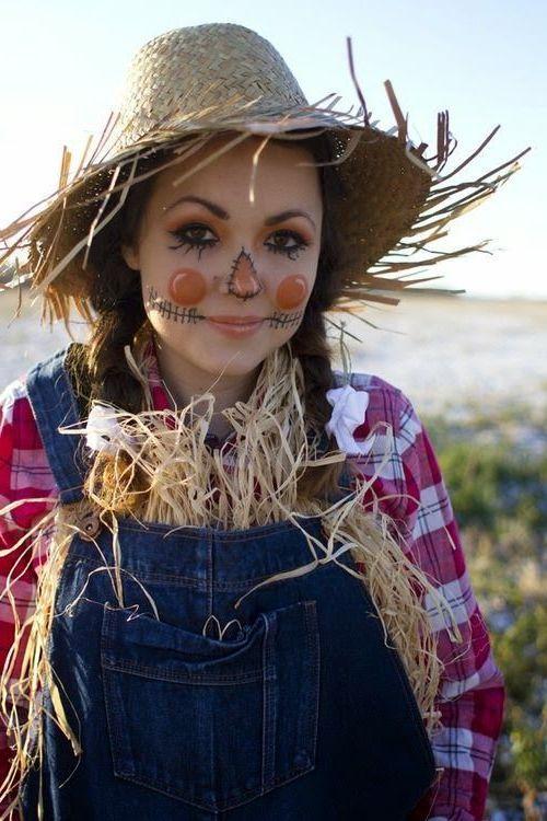 180 Fasching Ideen und coole Accessoires für perfekte Fasching Verkleidung #scarecrowcostumediy