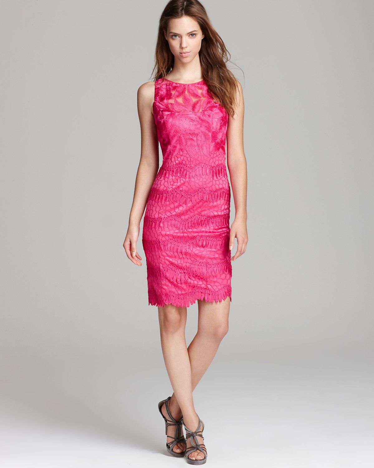 Sue Wong Short Dress - Lace | Bloomingdale\'s | ♥Fashion ♥ | Pinterest