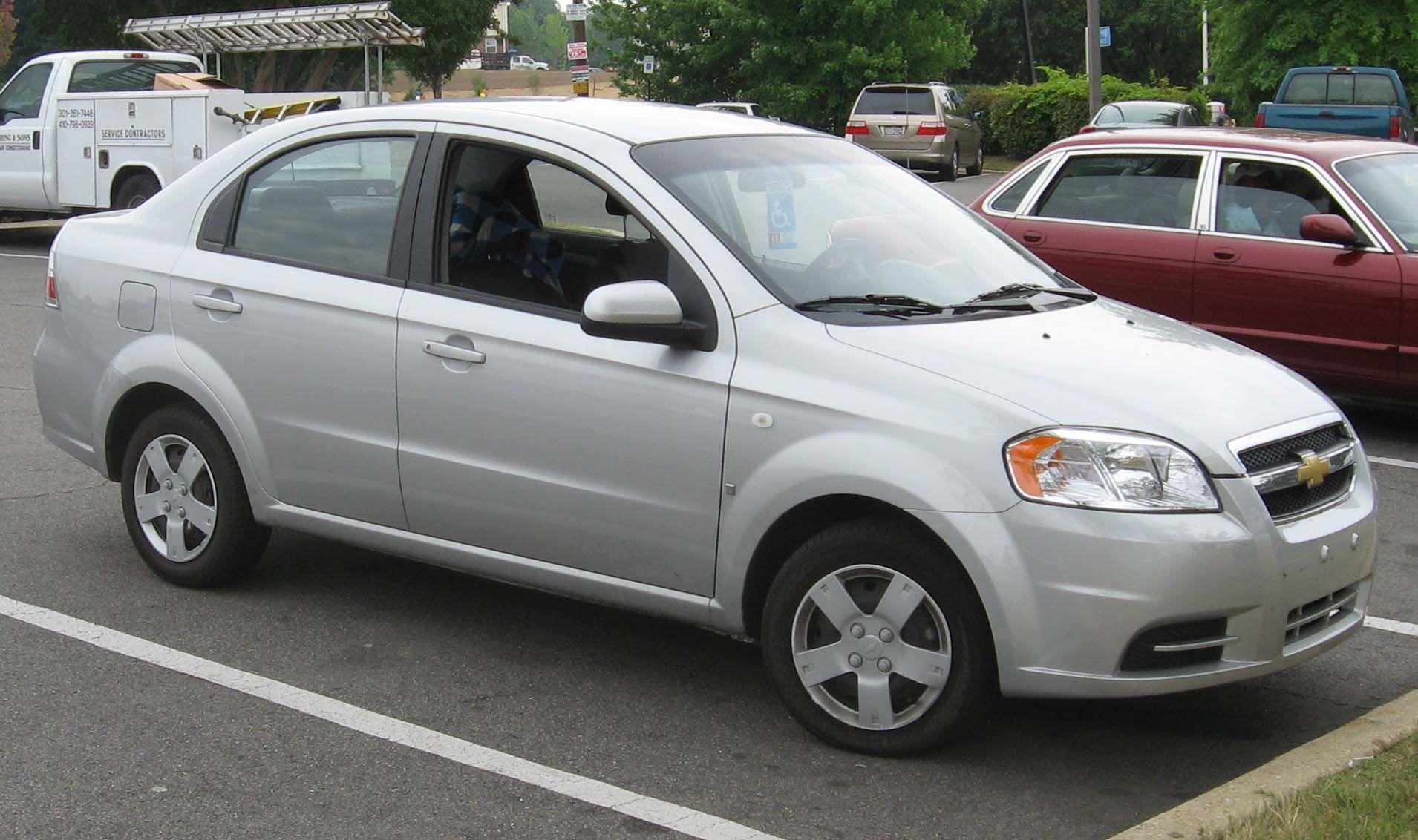 Chevrolet Aveo Ls Sedan Chevrolet Aveo Chevrolet Aveo Car