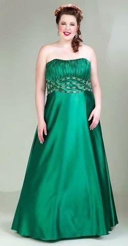 2ee8e6e95 Estupendos vestidos de Quince años para gorditas