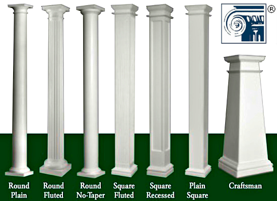 Pin By Marlene Meadows On My Porch Interior Columns