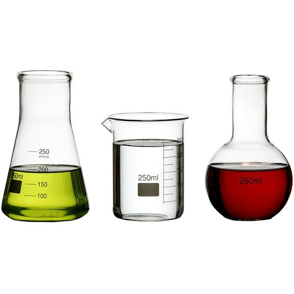 Jay Lab - Set of 3 Science Flasks (32 CAD) ❤ liked on Polyvore featuring home, kitchen & dining, bar tools, clear, lab flasks and wine flask