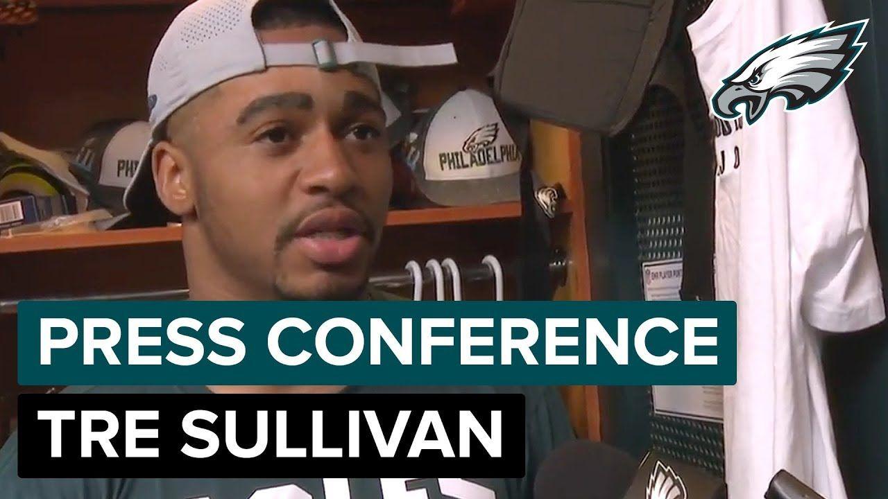 Tre Sullivan Preaches Communication w/ Teammates Eagles
