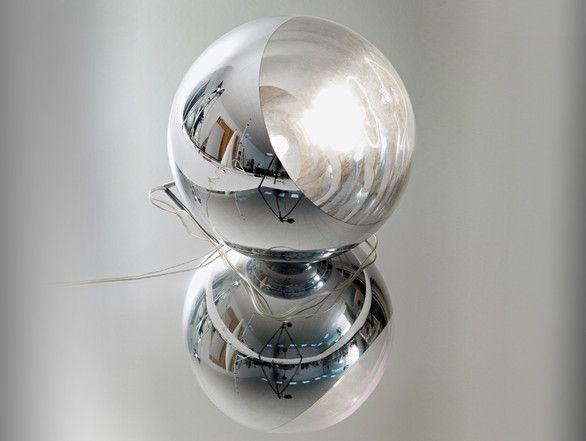 Buy The Ex Display Tom Dixon Mirror Ball Floor Lamp At Nest Co Uk Mirror Ball Floor Lamp Modern Contemporary Floor Lamp