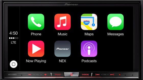 Pioneer NEX 8100 CarPlay | Technology | Audio books app, Apple maps