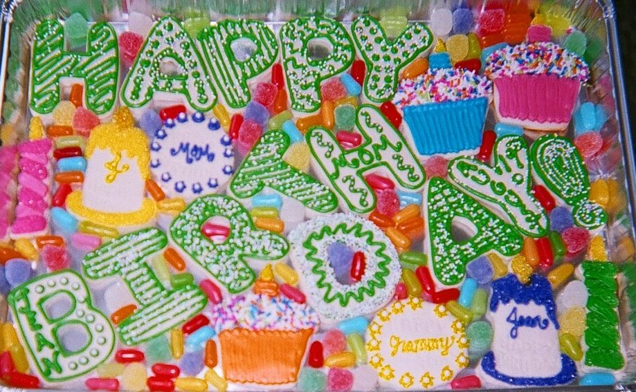 Mom's 81st Birthday Cookies | Flickr - Photo Sharing!
