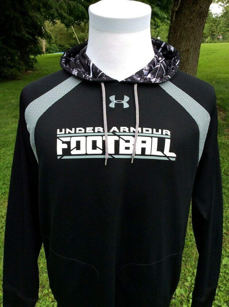 Under Armour Performance FOOTBALL Apparel Black Hoodie